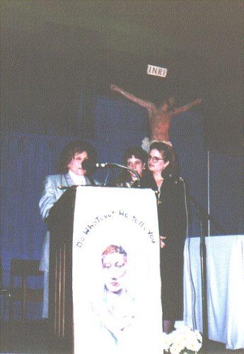 Discurso de la Sierva de Dios María Esperanza, Saint Martin's College Pavilion, Lacey, WA, EE.UU. (22-10-1994)