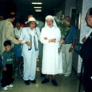 100 años de las Little Sisters of the Poor con St. Joseph's Home for the Elderly, NJ, EE.UU. (09-09-2001)