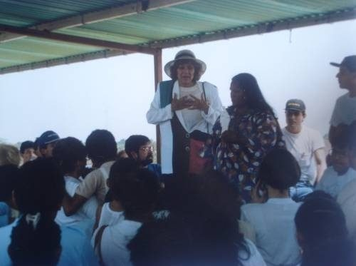 Discurso de la Sra. María Esperanza, Barrio de la Etnia Guajira, Edo. Zulia, Vzla.