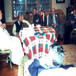 Aniversario de bodas de los esposos Bianchini-Medrano con Mons. Vincenzo Puma, familia y amigos, NJ, EE.UU. (08-12-2002)
