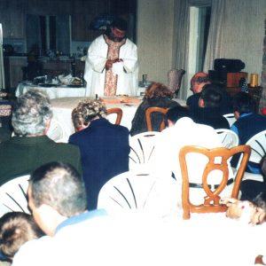 Nochebuena con el Pd. Nicolás, NJ, EE.UU. (24-12-2002)