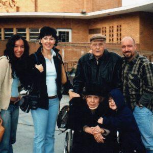 Esposos Bianchini-Medrano y Flia. Marrero-Bianchini, Parroquia Madre Cabrini, NY, EE.UU. (03-02-2003)