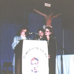 Mrs. Bianchini's speech, Saint Martin's College Pavilion, Lacey, WA, USA (10-22-1994)