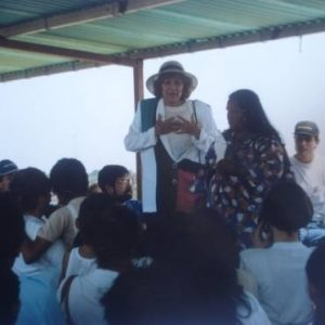 Mrs. Bianchini's speech, Guajirian Ethnic Community, Zulia State, Venezuela (10-24-1991)