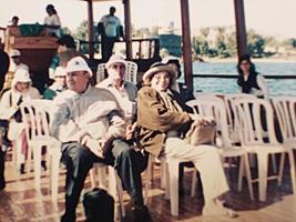 The Bianchinis, Lake Tiberias, Galilee, Israel (11-11-1995)