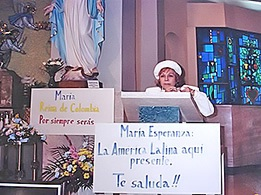 Mrs. Bianchini's speech, Church Saint Joseph the Worker, MA, USA (04-26-1993)
