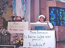 Mrs. Bianchini's speech, Church Saint Joseph the Worker, MA, USA (04-26-1993)