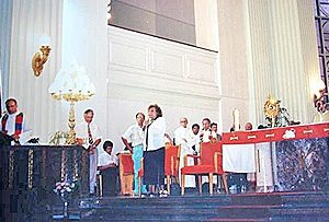Mrs. Bianchini's speech, Church Our Lady of Guadalupe, Montreal, Quebec, Canada (07-23-1993)